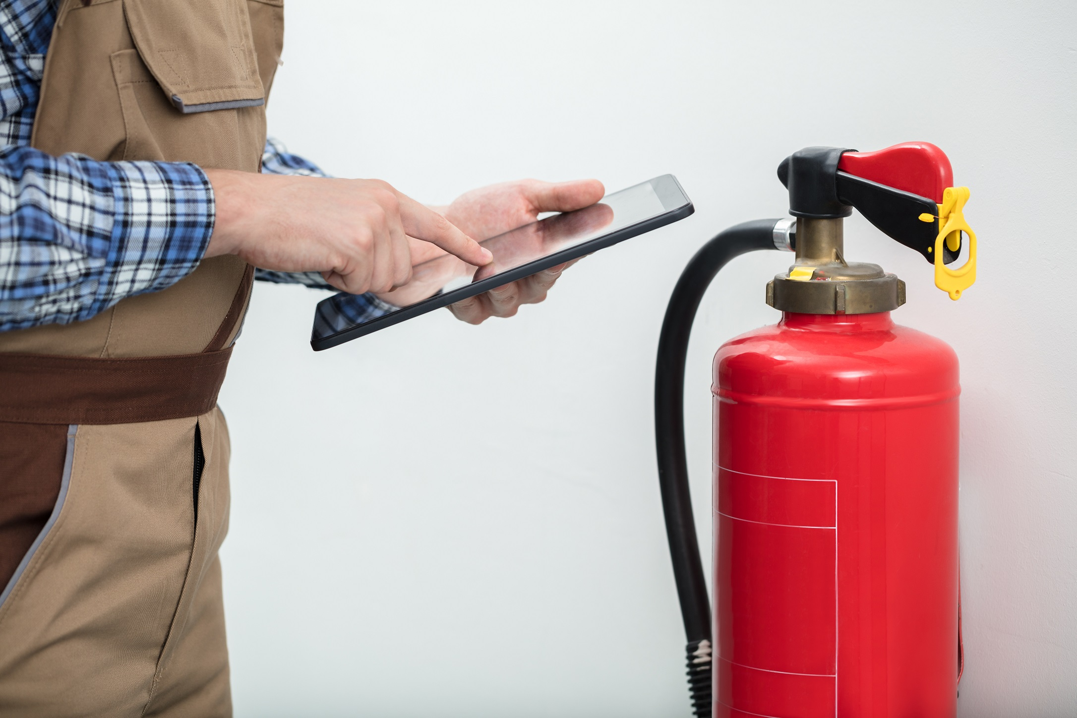 Barcode Fire Extinguisher Inspection System Helps Address Top 5 OSHA Failures