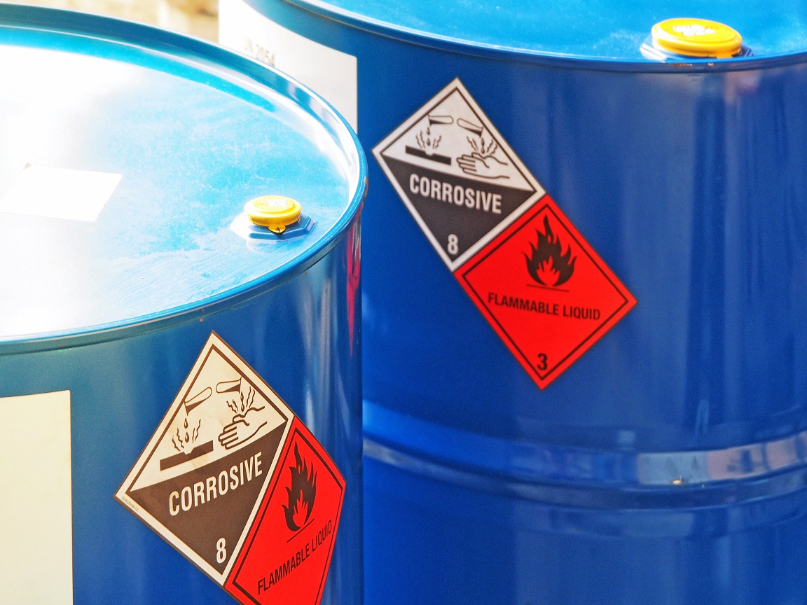 Hazardous Waste Tracking Labels