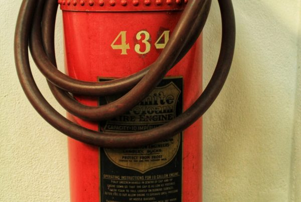 Obsolete Fire Extinguisher