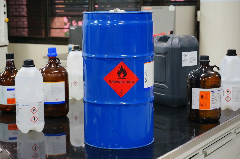 Flammable liquids are a Serious Fire Hazard