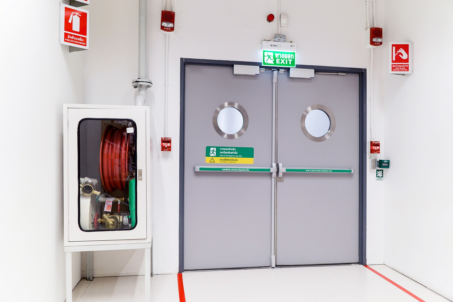 How to Ensure Fire Door Safety