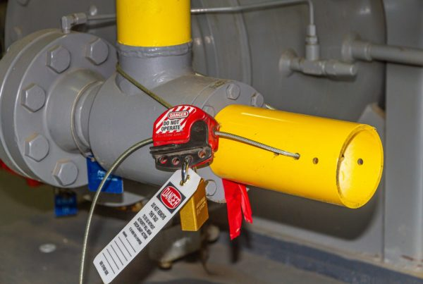 valve safety lockout